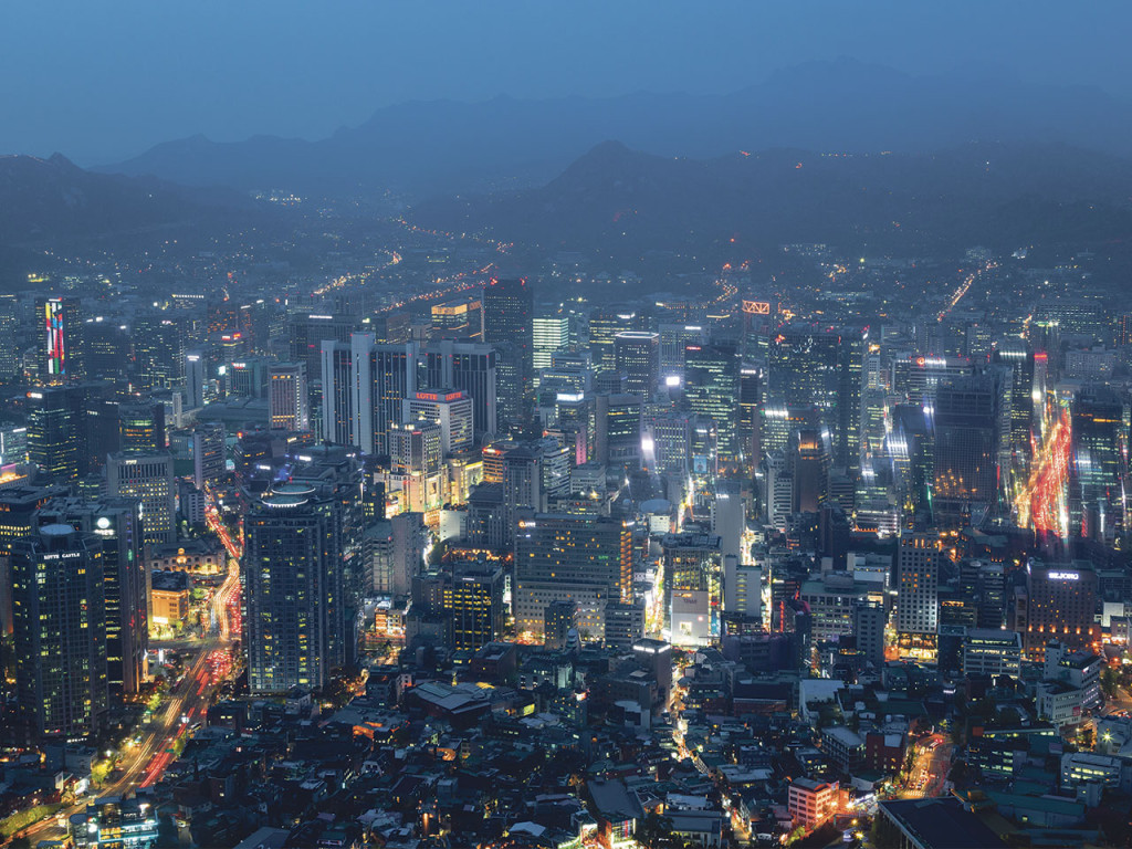 Sydkoreas huvudstad Seoul